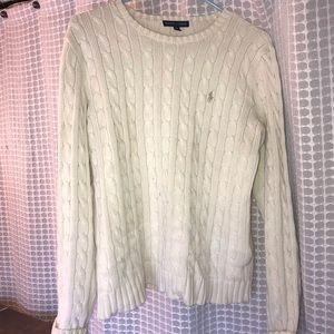 White Ralph Lauren Sweater